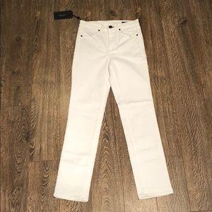 Rag & Bone White Cigarette Jeans NWT